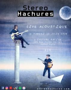 Live Acoustique @ Culture Rapide 15 04 19