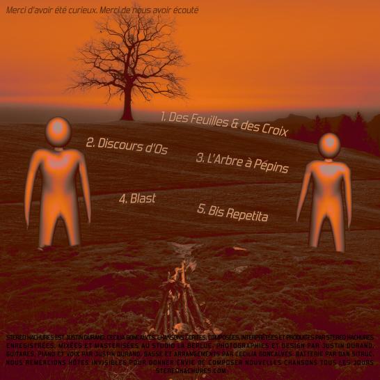 pochette de notre nouvel EP Des Feuilles & des Croix, dispo en streaming et téléchargement via ce lien : https://imusiciandigital.lnk.to/idyWL